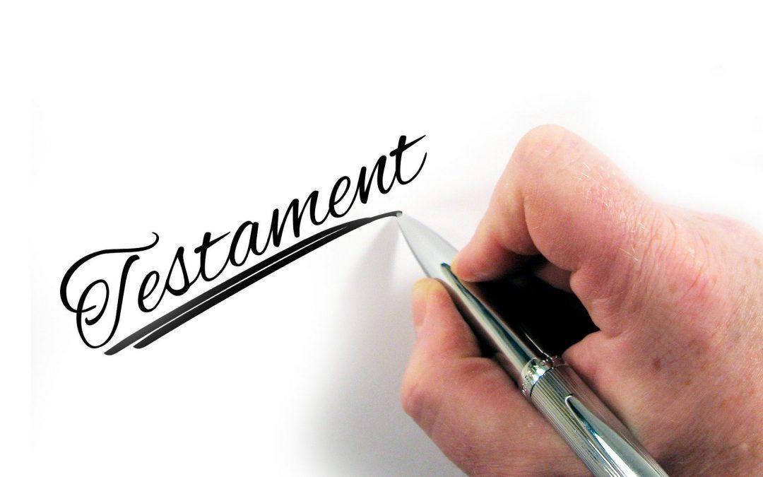 Das eigenhändige (handschriftliche) Testament