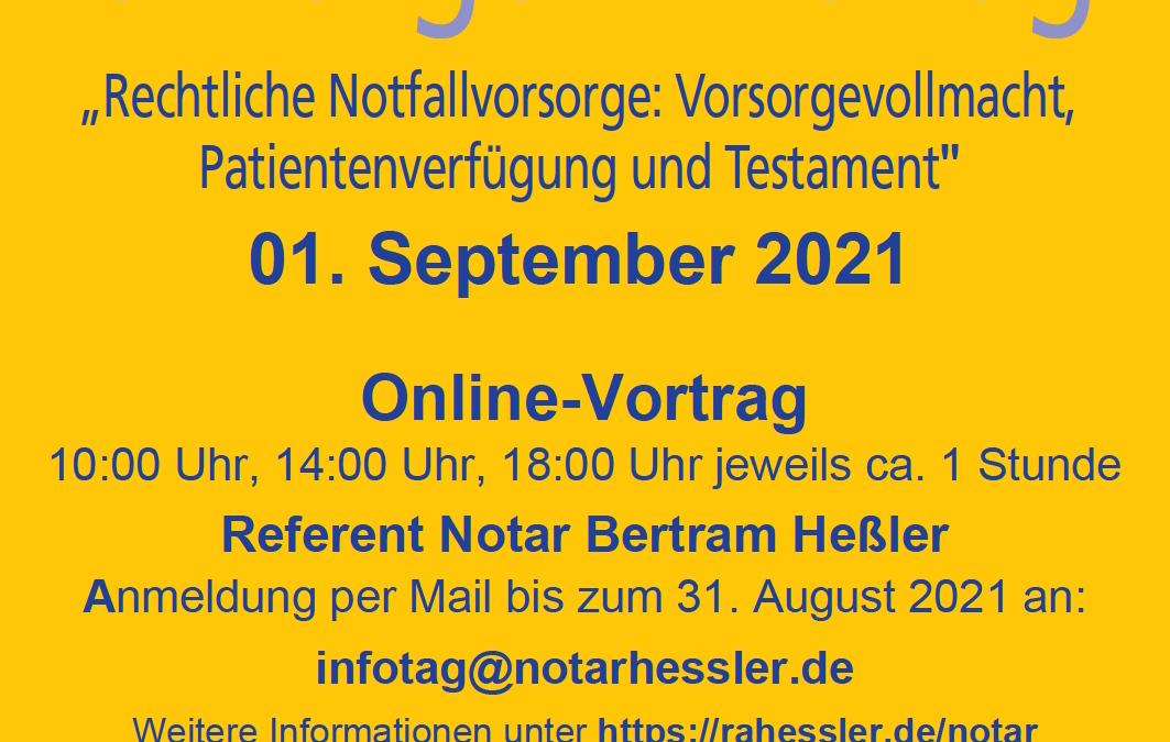 Bürger-Info-Tag 2021